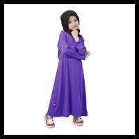 BAJUYULI - Baju Muslim Gamis Anak Perempuan Murah Polos Jersey - FJ