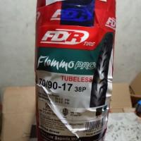 ban luar tubeless fdr flemmo pro 70/90/17 ban tubeless 70/90/17