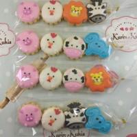 Kukis Hias, Kukis Karakter, Fancy Cookies Animals isi 4