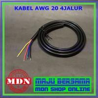 Kabel AWG 20 4Jalur Original Jual Per 1meter