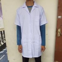 Baju Laboratorium Lengan Pendek Jas Lab Baju Praktek