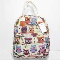 Ransel import kanvas thailand / backpack / tas import gajah owl