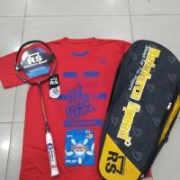 Raket Badminton RS POWER METRIC 11 N II ORIGINAL FREE BONUS KOMPLIT