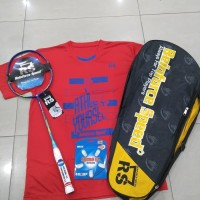RAKET Badminton RS METRIC POWER 9 N II KOMPLIT ORIGINAL