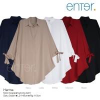 baju atasan herma super jumbo tunik muslim wanita modis simple casual