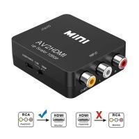 Mini RCA AV to HDMI Converter Adapter Composite AV2HDMI