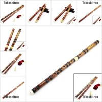 Traditional Chinese Musical Instrument Handmade Dizi Bamboo Flute In G