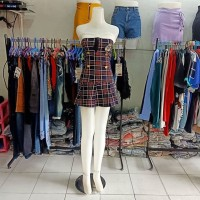 Mini Dress import SUPER PREMIUM suze fit S warna hitam,biru dongker