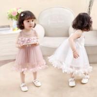 Gaun Pesta Bayi Balita Import Dress Baju Ulang Tahun Anak Perempuan