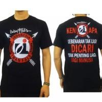 Promo T-shirt Distro Pria TrandyKaos Oblong Kaos Logo Kaos OI IWAN FA