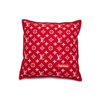 Supreme x Louis Vuitton Monogram Pillow Red