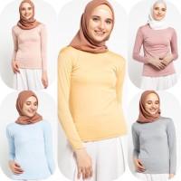 Baju Atasan Muslim Wanita Le Najwa Fatya Manset Basic
