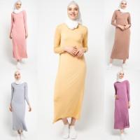 Baju Gamis Muslim Wanita Le Najwa Lucia Manset Gamis