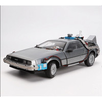 DIECAST Welly Back to the future Time machine edition vol.3 fullmetal