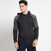 Cressida Block Panel Hoodie Jacket H153