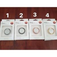Chrom IRing Metalic (Mirror) (I-Ring Stand Chrome/Besi/Hp/Cincin) oppo
