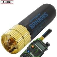 Antenna Mini Booster Dual Band Walkie Talkie HT Baofeng Pofung