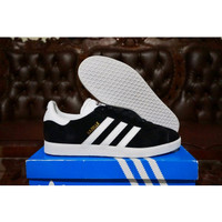 Sepatu Sneakers Adidas Gazelle Black White Original BB5476
