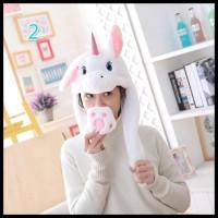 Gosend Ok Promo Termurah Plg7 Banny Hut Topi Kelinci Model Telinga