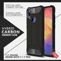 Armor Case Xiaomi Redmi Note 7 / Pro Soft Softcase Hard Casing Cover