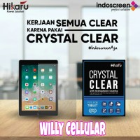 Anti Gores Clear Samsung Tab 3V - Crystal FX Hikaru