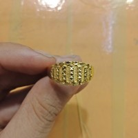 Cincin emas asli kadar 700 70% 22 model pria 17 18 19 20 21 22 23