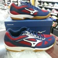 Sepatu Volly Mizuno Cyclone Speed 2 red/white/navy