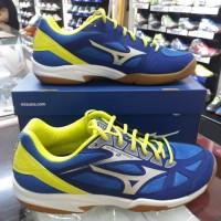 Sepatu Volly voli Mizuno Cyclone Speed 2 blue/yellow