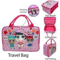 Travelbag Karakter LOL Anti Air Tas Koper Anak Tas Pakaian Anak