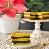 Harum Cake Lapis Legit PANDAN COKLAT/PREMIUM WISJMAN