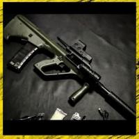 Senjata Pistol Air AUG Steyr Full Custom Water Gel Gun
