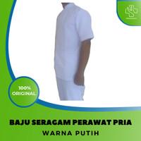 Baju Seragam Perawat Putih Pria