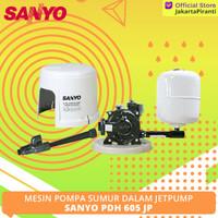 Mesin Pompa Jetpump Sanyo PDH 605 JP (Pompa Sumur Dalam)