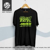 Kaos Baju Distro RCB 1 Racing Logo Sponsor Balap One Prix Terlaris
