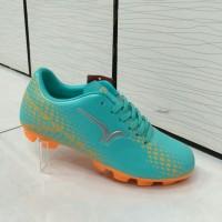 Sepatu bola anak Calci Scorch sc jr Turquoise Orange