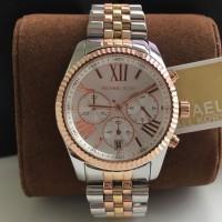 Michael Kors Lexington Tri-tone Watch Mk5735