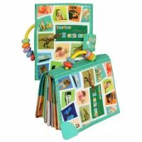 Buku Kain Teytoy-Soft/Cloth Book with Teether. Mainan Edukasi Bayi