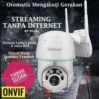 Teknobi IP CAMERA CCTV WIFI PTZ AUTO TRACKING Mengikuti Gerakan Cloud