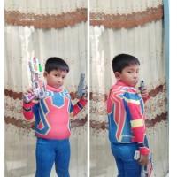 Baju Renang Pelampung Anak-anak Superhero