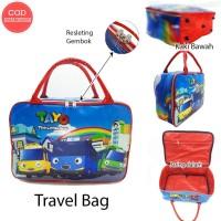 Travelbag Karakter Tayo Anti Air Tas Koper Anak Tas Pakaian Anak
