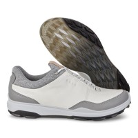 Sepatu Golf Pria Ecco Original | Ecco Biom Hybrid 3 White Black