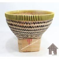 Boboko / Bakul Nasi Bambu Batik - D20
