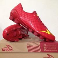 Bhanu Sepatu Bola Specs Accelerator Exocet FG Dark Red 100764 Original