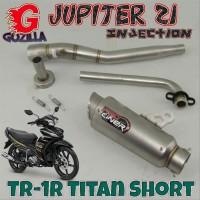 ProLiner TR-1R Titan Short JUPITER Z1 INJECTION Knalpot Racing Full Sy