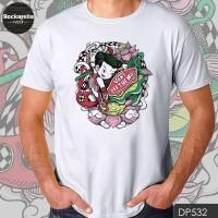 T Shirt DP532 Sneakers Doodles - Putih, M