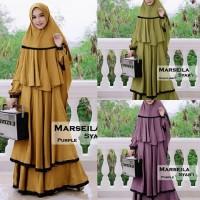 gamis maxi dress polos maxy baju wanita muslin syariah muslimah polos