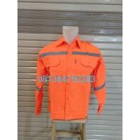 Seragam Kerja Safety / Baju Safety Proyek murah berkualitas