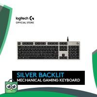 Terlaris Logitech G413 Mechanical Backlit Gaming Keyboard - Silver