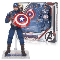 ZD Toys Marvel Avenger Infinity War Captain America With Shield Figure