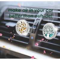 Jewel Car Essential Oil Pengharum Mobil Aroma Diffuser Air Humidifier